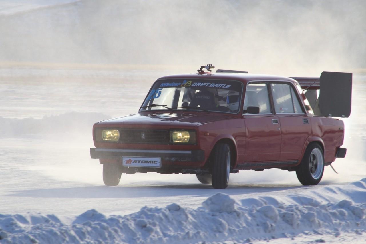 Прямая трансляция квалификации первого этапа Winter Drift Battle