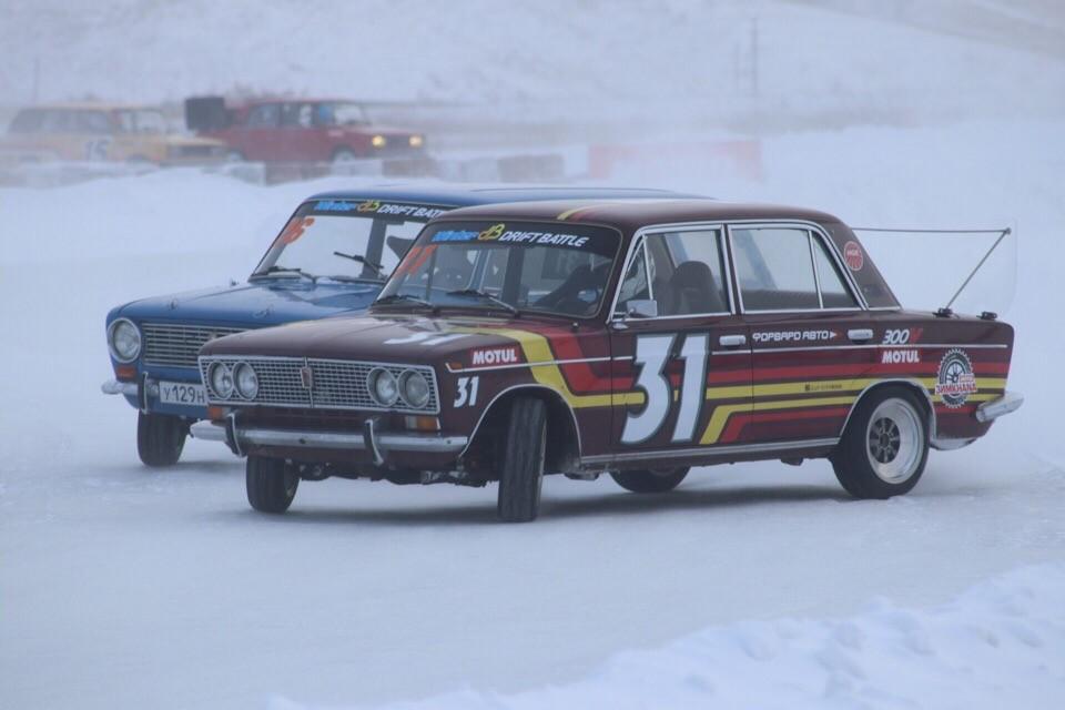 Прямая трансляция парных заездов Winter Drift Battle 1 этап.