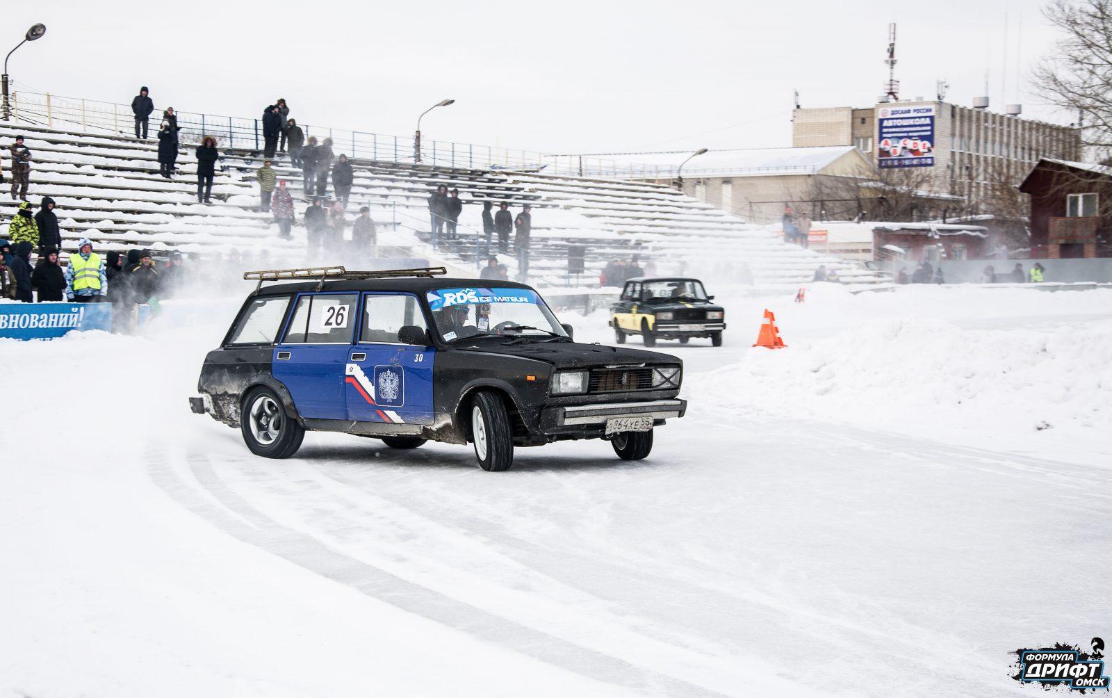 Итоговый результат второго этапа «Формула Дрифт Омск.Зима 2018-2019»