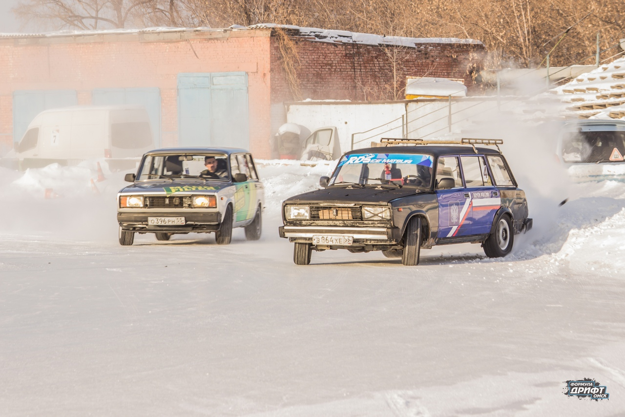 Результаты третьего этапа «Формула Дрифт Омск.Зима 2018-2019»