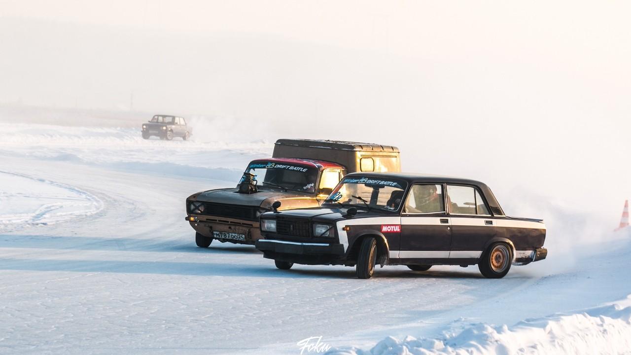 Прямая трансляция парных заездов Winter Drift Battle 2 этап.