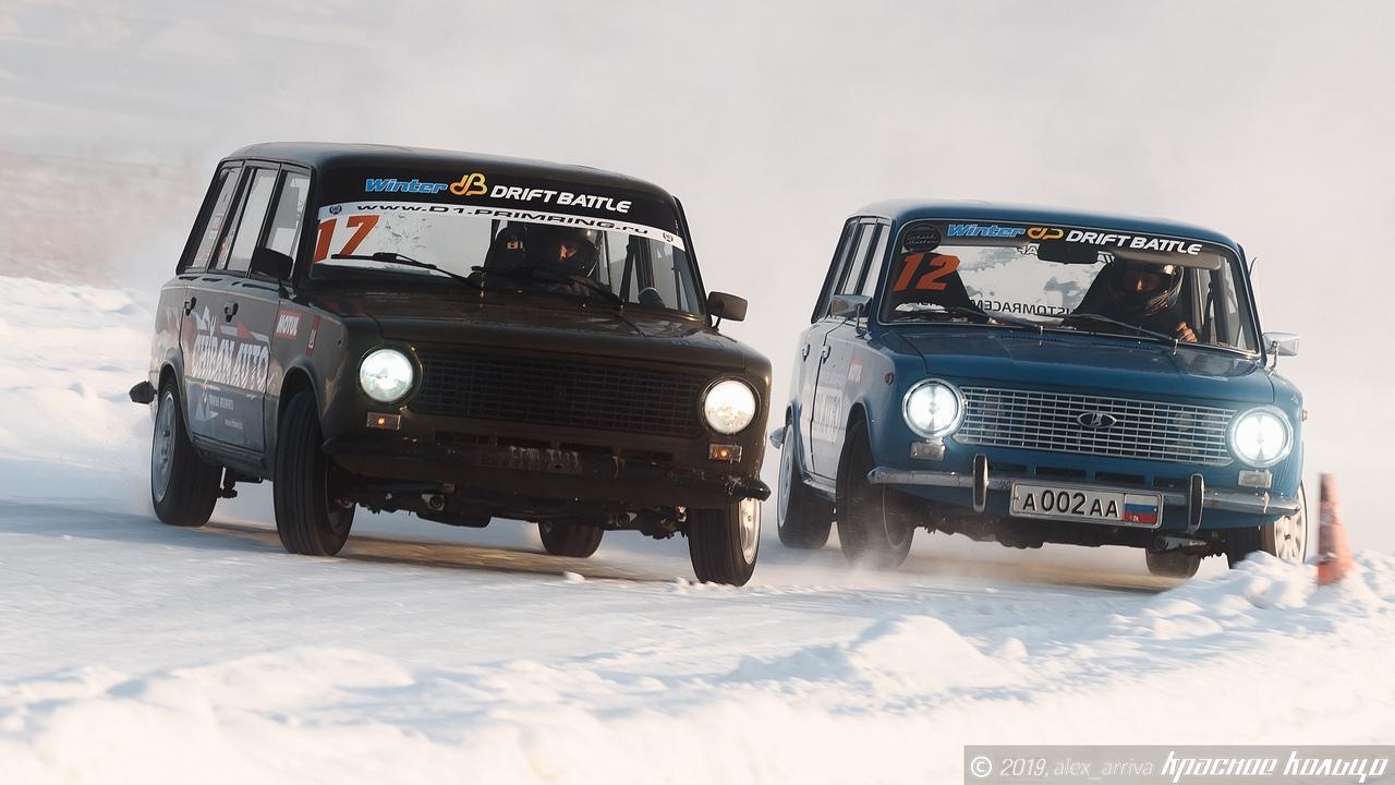 Прямая трансляция квалификации четвертого этапа Winter Drift Battle