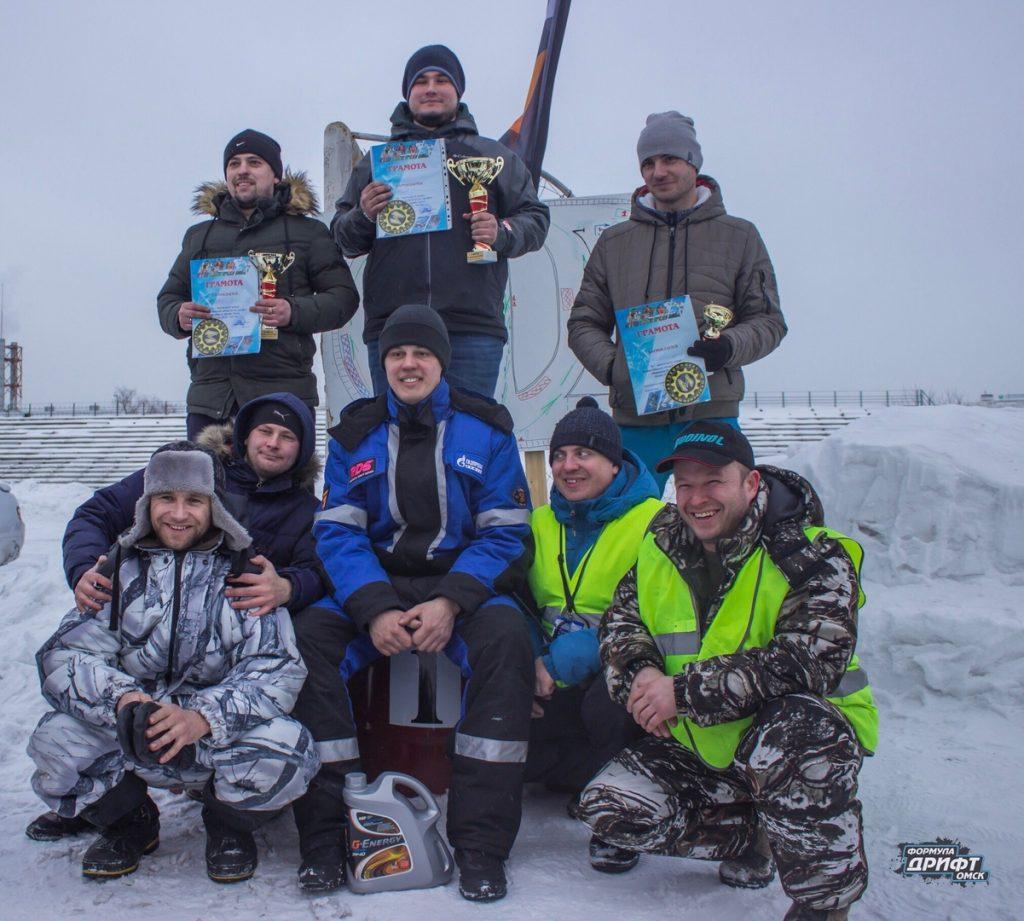 Результаты четвертого этапа «Формула Дрифт Омск.Зима 2018-2019»