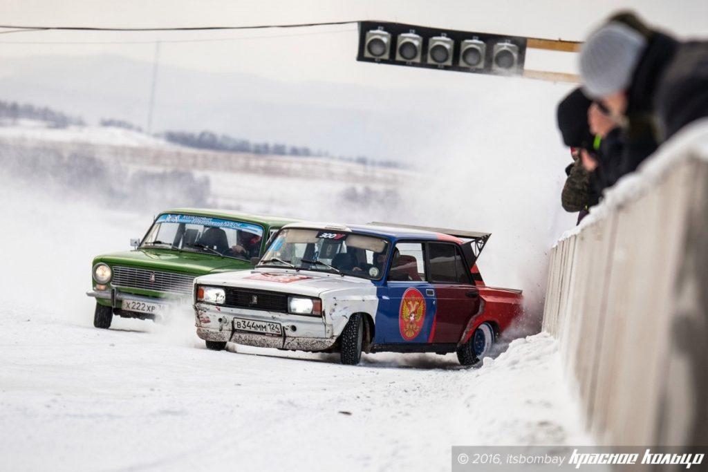 Gislaved - официальный спонсор российской ледовой дрифт-серии Winter Drift Battle
