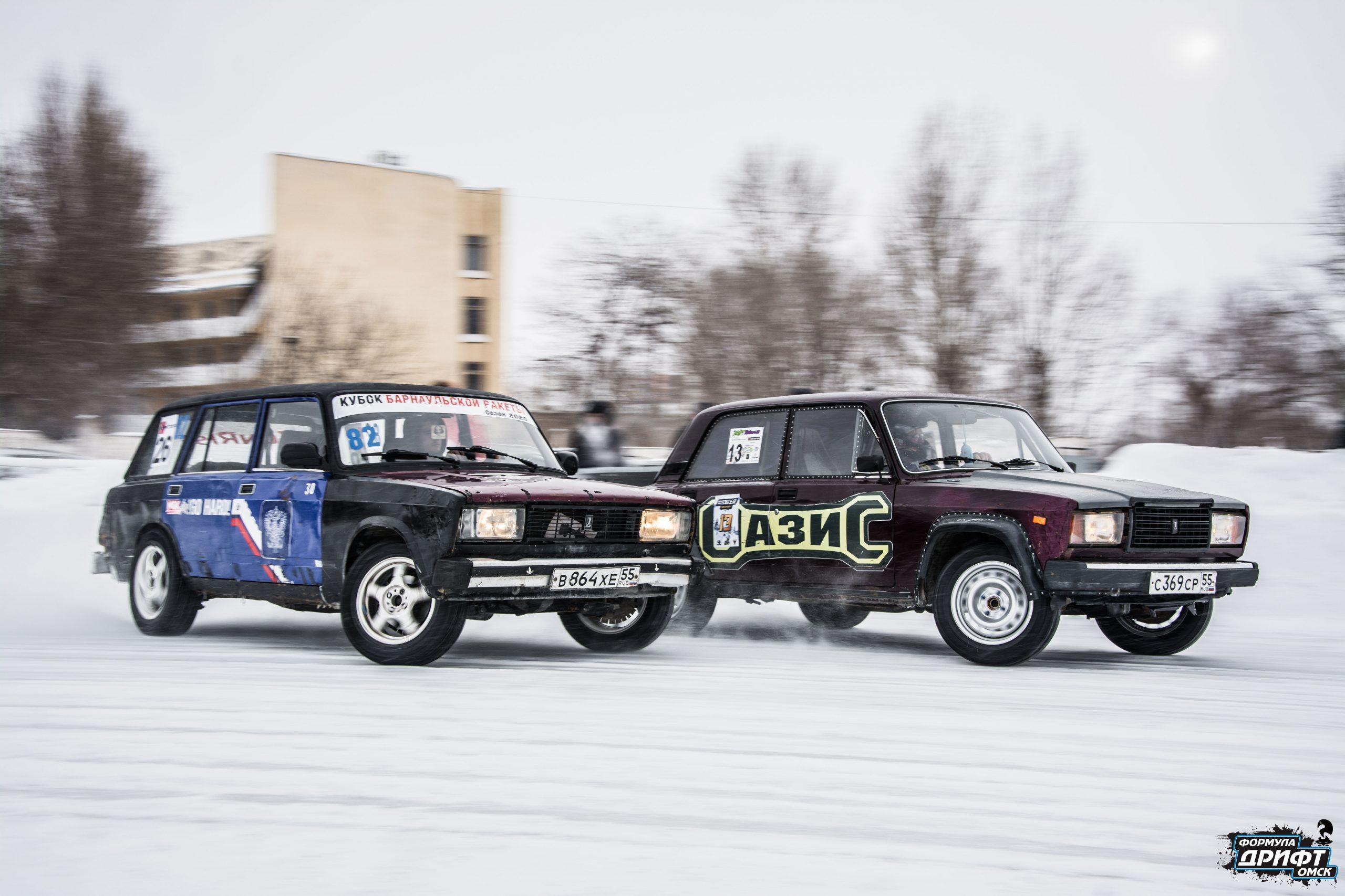 Итоговые результаты II этапа Кубка Омской области по дрифту «Формула Дрифт Омск. Зима 2019-2020»
