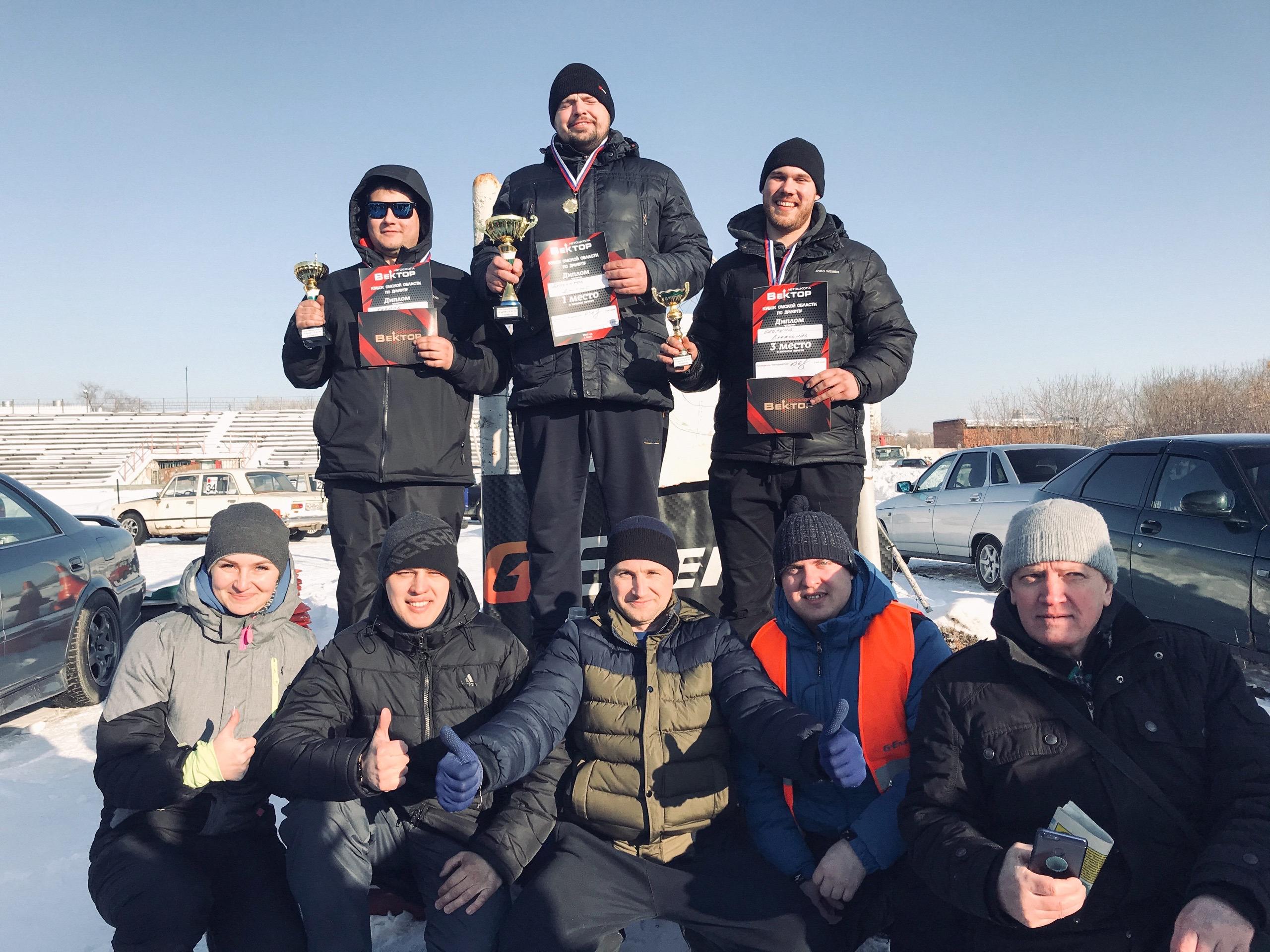 Итоговые результаты III этапа Кубка Омской области по дрифту «Формула Дрифт Омск. Зима 2019-2020»