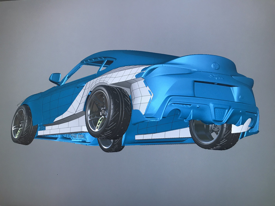 Как строили Toyota Supra A90 для Никиты Шикова